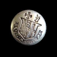 Silberfarbener kleiner Knopf