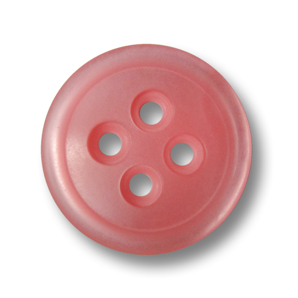 Zart rosafarbener schlichter Knopf