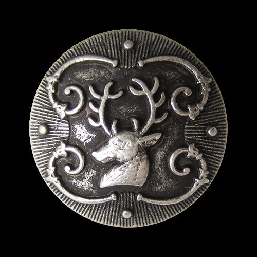 Umwerfend schöne Trachtenknöpfe mit Motiv: Hirsch