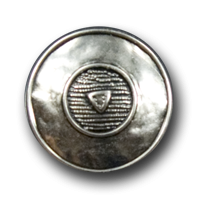Altsilberfb. Metall Knopf wie aus Mittelalter o. Antike