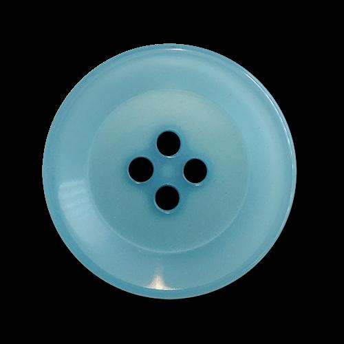 www.knopfparadies.de - 6026tu - Günstige Kunststoffknöpfe mit vier Löchern