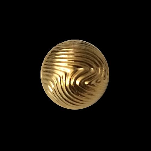 Leichter goldfarbener Kugelknopf