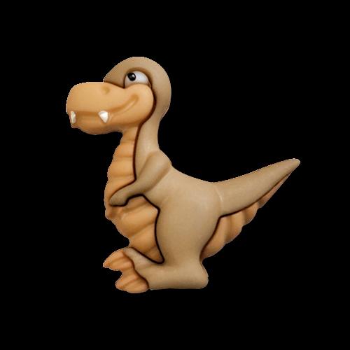 www.knopfparadies.de - 6176ty - Zuckersüße Dino Knöpfe: Tyrannosaurier