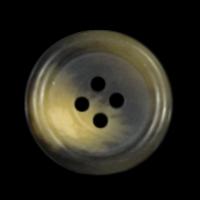 Klassischer Basicknopf in dunklen Brauntönen