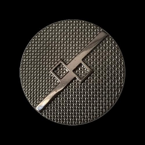 0708c – Chromfarbene Kunststoffknöpfe