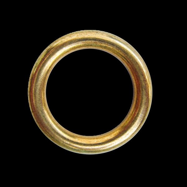 Goldfarbener Metall Ring für Schmuck, Deko & Basteln