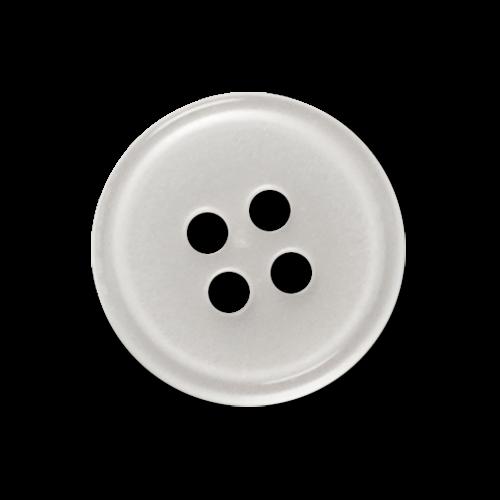 Hübscher Blusenknopf in Perlmuttschimmer