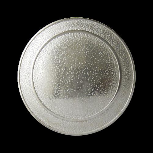 Silberfarbene Metallknöpde, ideal als Uniformknöpfe
