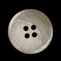 Packung - 20 schlichte beige-marmorierte Knöpfe