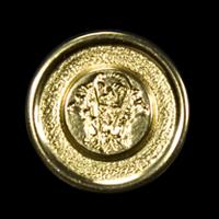 Hübscher Ösenknopf mit Monogramm