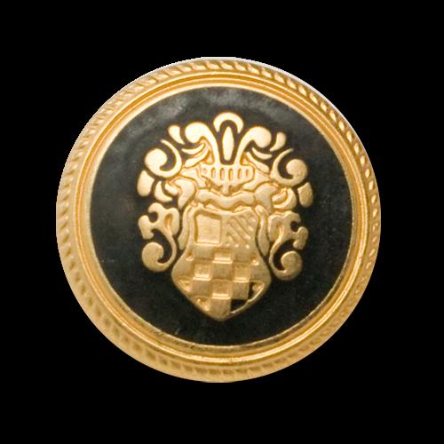 Klassiche Blazerknöpfe mit Wappenmotiv