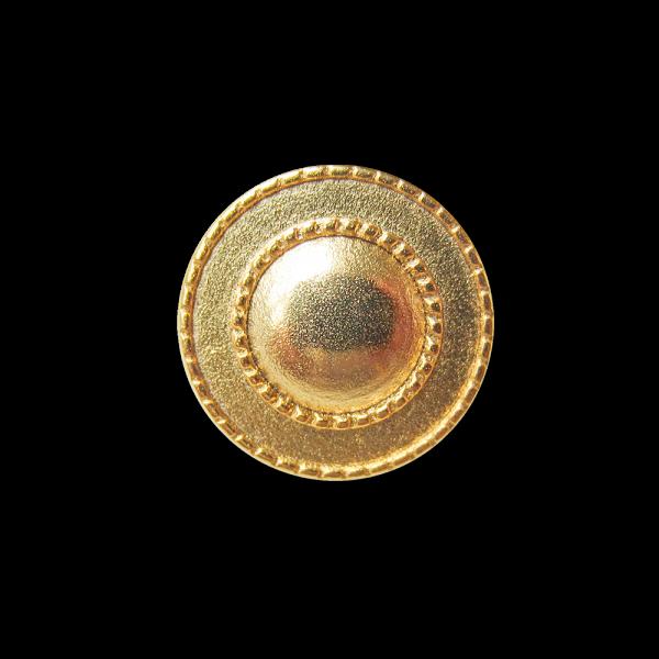 Goldfarbener sehr schöner Metallknopf