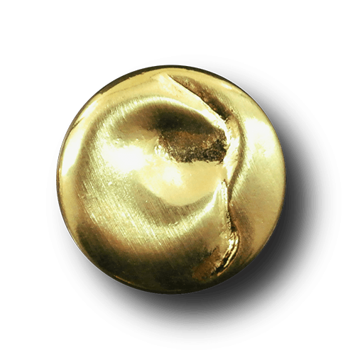 Edle goldfarbene Metallknöpfe