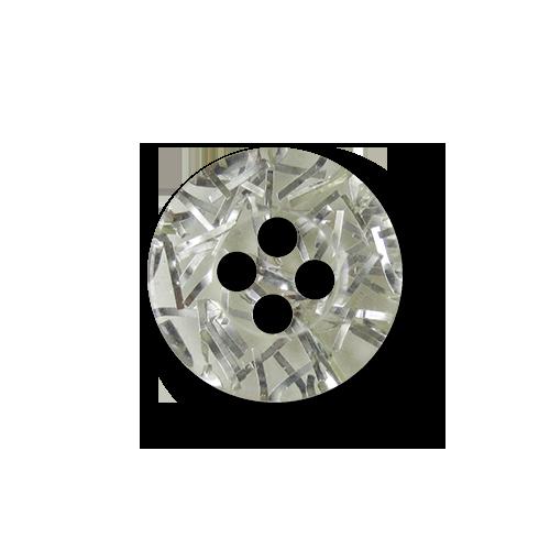 silber transparente vierlochkn pfe aus kunststoff f r blusen etc knopfparadies. Black Bedroom Furniture Sets. Home Design Ideas