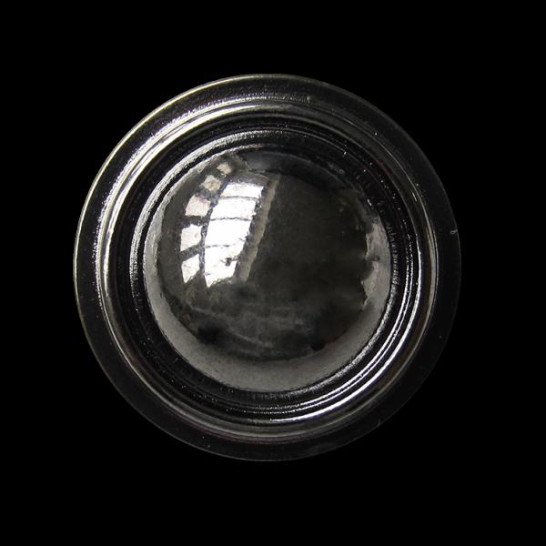 Edel glänzender chromfarbener Metall Knopf für Uniform