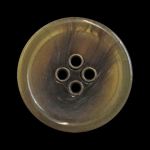 www.knopfparadies.de - 5981ol - Dickere Kunststoffknöpfe mit vier Löchern
