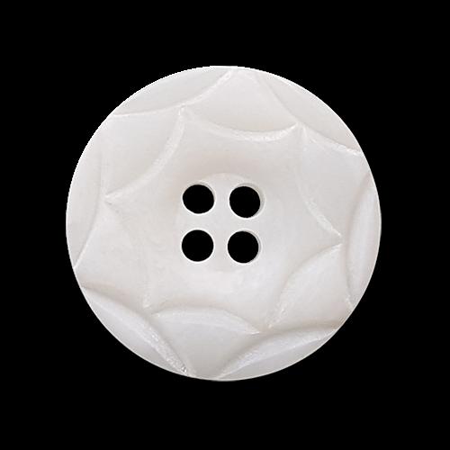 Hübsche weiße Blusenknöpfe