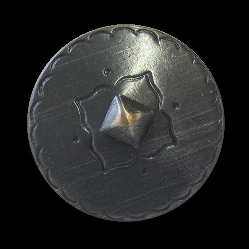 www.knopfparadies.de - 5919cm - Metallknöpfe in historischem Design