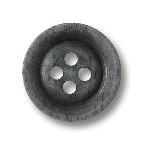 www.knopfparadies.de - 1676gr- Rustikale graue Knöpfe aus echtem Bein