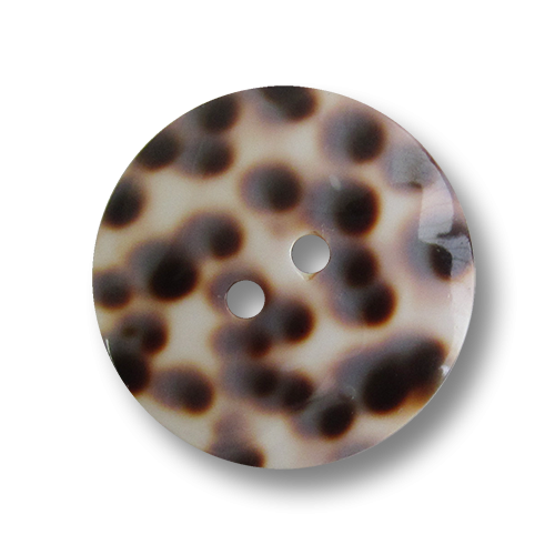 www.knopfparadies.de - 2681ti - Ausgefallen schöne Perlmuttknöpfe aus echter Tigermuscheel