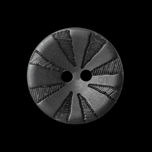 Günstiger kleiner schwarzer Kunststoff Blusen Knopf