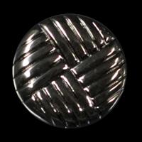 Packung 10 attraktive dunkel chromfb. Knöpfe