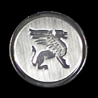 Edle Blazerknöpfe mit Sphinx-Motiv