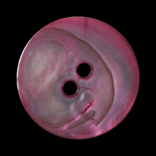 Pink eingefärbte Perlmuttknöpfe