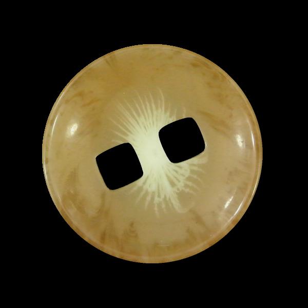 Interessante beige melierte Mantelknöpfe