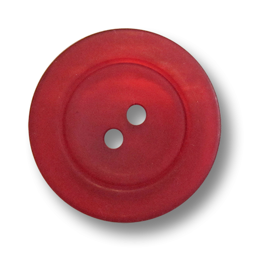 www.knopfparadies.de - 1095ro - Dunkelrot schimmernde Kunststoffknöpfe