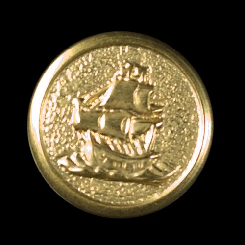 Maritimer leichter Metallknopf nicht nur für Blazer