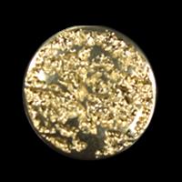 Goldfarbene schlichte Metallknöpfe