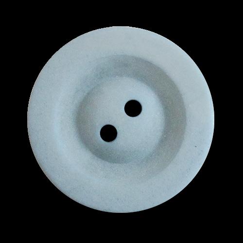 www.knopfparadies.de - 2836bl - Blaue Mantelknöpfe aus Kunststoff