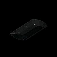 Facettierter schwarzer Knebelknopf