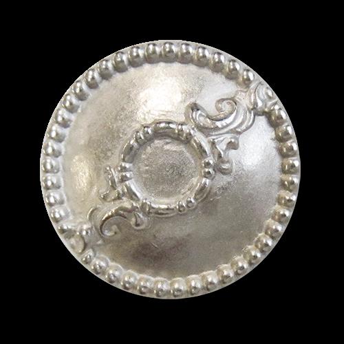 Silberfarbene Metallknöpfe
