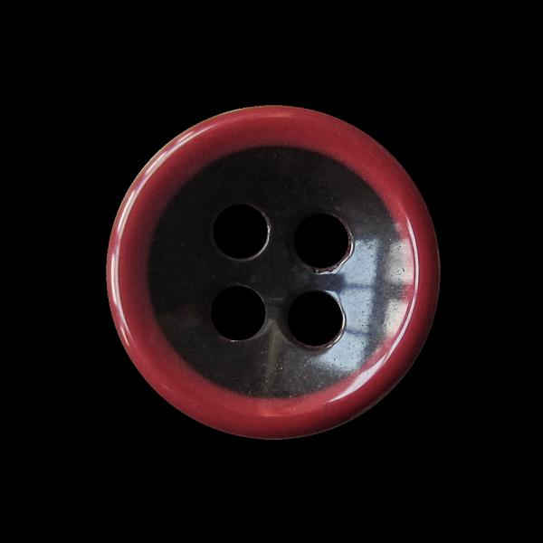 Kunststoffknoepfchen in dunkelrot