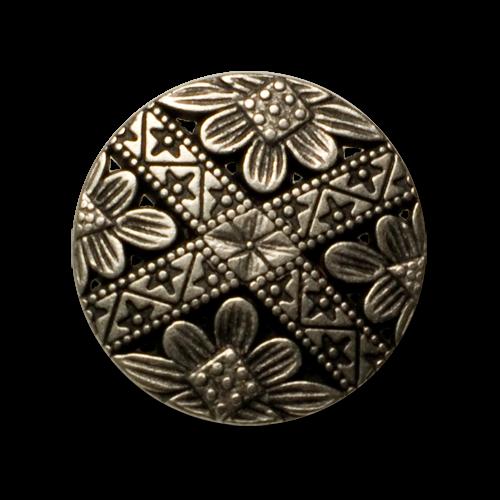 Wunderschöne Trachtenknöpfe aus Metall mit filigranem Durchbruchmuster