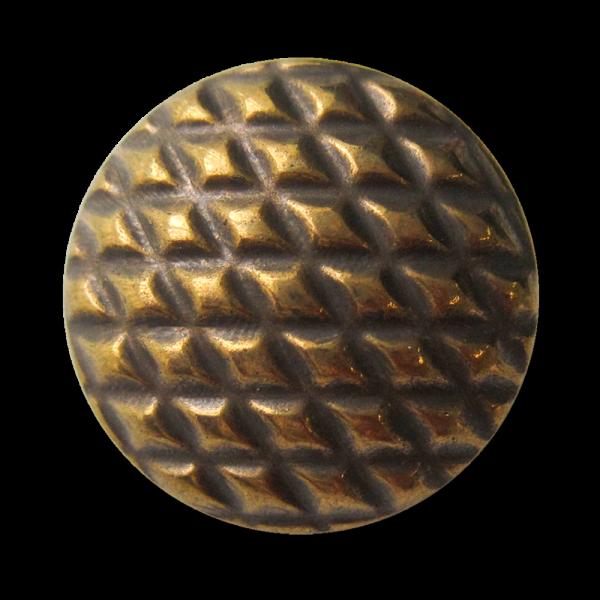 Altmessingfarbene Metallknöpfe