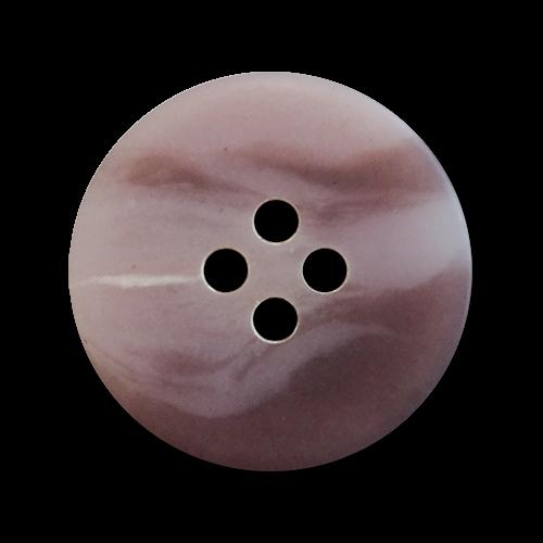 www.knopfparadies.de - 6056ar - Rosa und lila marmorierte KUnststoffknöpfe