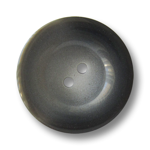www.knopfparadies.de - 1693dg - Günstige Mantelknöpfe in grau aus Kunststoff - B-Ware