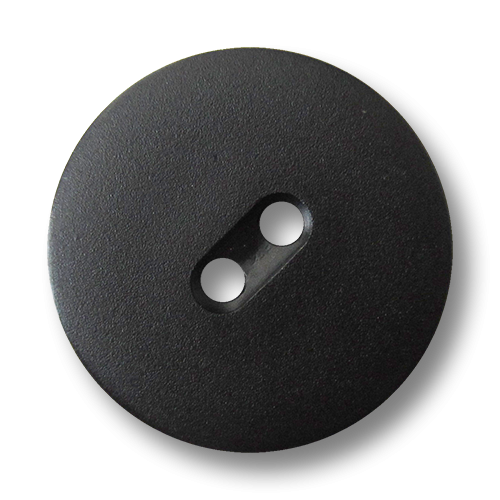 www.Knopfparadies.de - 1470sc - Schlichte schwarze Kunststoffknöpfe