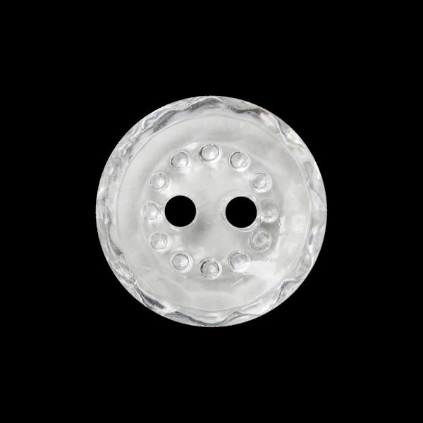 Nostalgische kleine transparente Knöpfe in Glas Optik