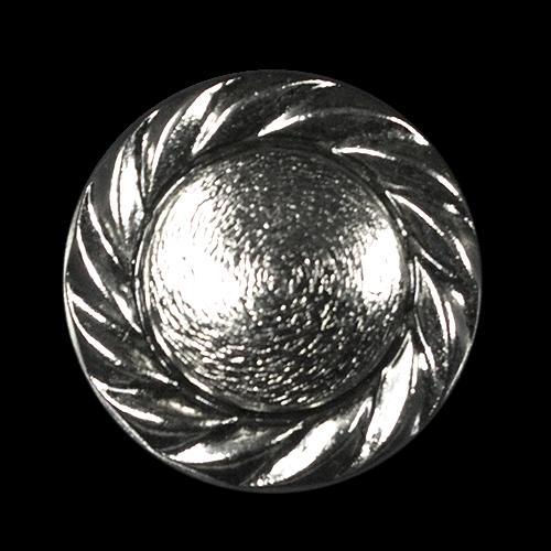 Altsilberfarbene Metallknöpfe
