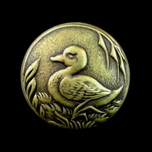 Niedliche Entenknöpfe aus Metall