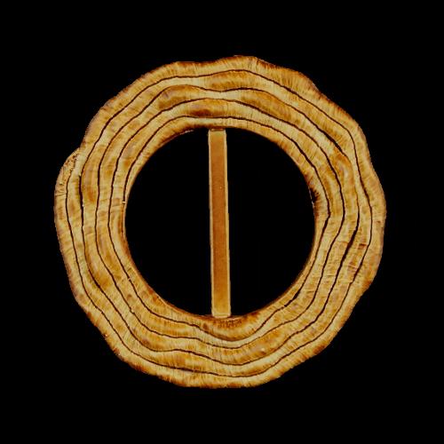 Attraktive rotbraun-beige schattierte Schnalle