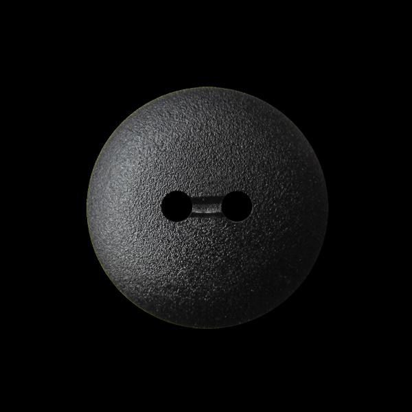 Schwarzer günstiger Zweiloch Kunststoff Knopf