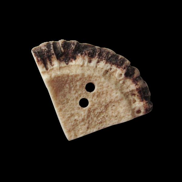 Ausgefallener Hirschhornknopf