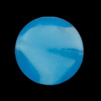 Packung: 10 türkisfarbene Glasperlen