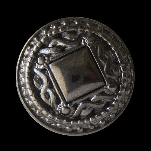 www.knopfparadies.de - 1499ch - Üppig verzierte Metallknöpfe