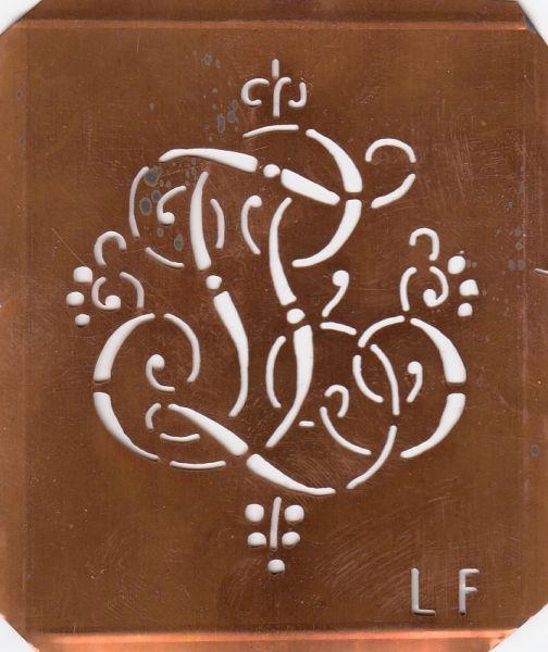 Monogrammschablone - LF-sch-561